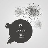 New Year Card Background - 2015