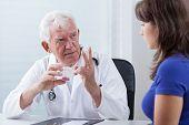 Doctor Prescribing Patient Red Pills