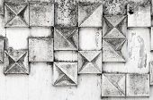 Abstract Background Texture With Square Pattern