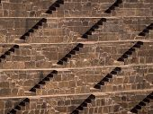 The Famous Chand Baori Stepwell In Abhaneri, Rajasthan, India