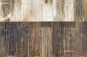 Timber Wood Brown Plank Texture Background