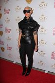 LOS ANGELES - OCT 16:  Amber Rose at the XXIV Karat Launch Party at Beverly Hilton Hotel on October