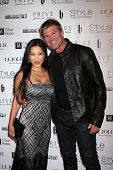 LOS ANGELES - OCT 15:  Toni Lee, Winsor Harmon at the Sue Wong