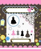 picture of no clothes  - Scrapbook elements with  clothes - JPG