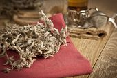 Houttunynia herb used in chinese herbal medicine