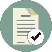 Document Check Icon