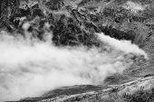 Alpine sea of clouds