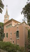House Of Antoni Gaudi In Park Guell