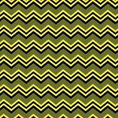 Black And Yellow Chevron