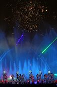 International Show Circle Of Light In Moscow