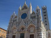 The Gothic Cathedral Of Siena