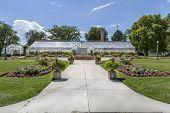 Greenhouse at Liberty Park in Salt Lake City Utah