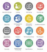 SEO & Usability Icons Set 2 - Cercle Series