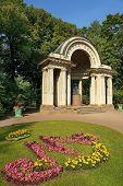 Rossi Pavilion In Pavlovsk Park, Saint Petersburg, Russia