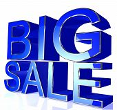 Blue Big Sale