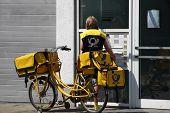 Typical German Postwoman