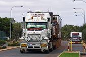 Huge Truck Through