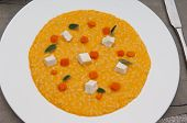 Pumpkin Risotto Cheese