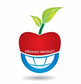 Agricultural Concept, Organic Apple