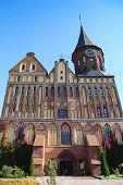 Konigsberg Cathedral, a Brick Gothic-style cathedral in Kaliningrad, Russia