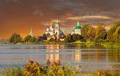 View of Spaso-Yakovlevsky Monastery in Rostov Veliky
