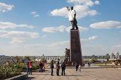 Lenin Dressed In Ukrainian National Costume