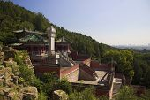 Summer Palace with historical architecture in Beijing