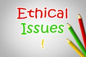Ethical Issues Concept