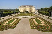 Garden With Castle Schoenbrunn