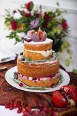 Cake, Cupcakes, Sweetness And Flowers