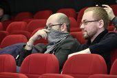 Journalist Ilya Azar And Policies Vsevolod Chernozub