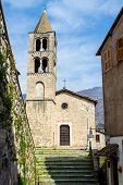 Ancient Church In Subiaco, Italy