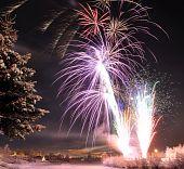 Arctic Solstice Fireworks in Fairbanks