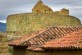 Ingapirca important inca ruins in Ecuador