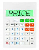 Calculator With Price