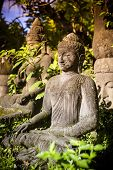 image of stone sculpture  - Bali - JPG