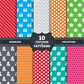 pic of hashtag  - Seamless patterns and textures - JPG