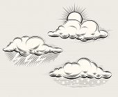 picture of storms  - Engraving weather - JPG