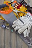 picture of leather tool  - Home renovation in progress - JPG