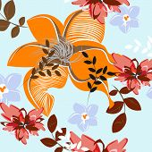 Seamples Flower illustration