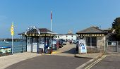 Sunshine and warm weather brought visitors to Swanage Pier on the Dorset coast