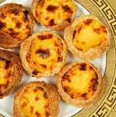 pic of pasteis  - Portugese pastries  - JPG