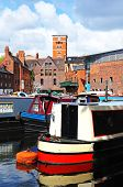 Narrowboats, Birmingham.