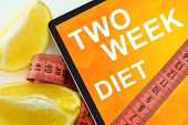 two week diet on tablet.