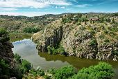 Canyon Of Tajo River Near Toledo, Spain