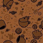 Endless Coffee Pattern