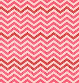 Vector Seamless Abstract Toothed Pink Background