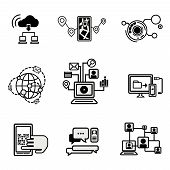 Universal Outline Icons For Web