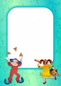 Purim Celebration Page Border