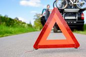 stock photo of car carrier  - Car Trouble  - JPG